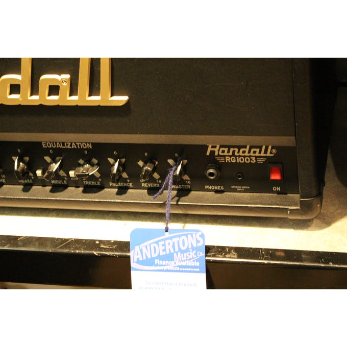Second Hand Randall RG1003H Inc Footswitch - Andertons Music Co