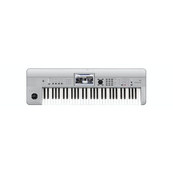 Korg Krome 61 Keyboard Workstation in Platinum Finish - Andertons