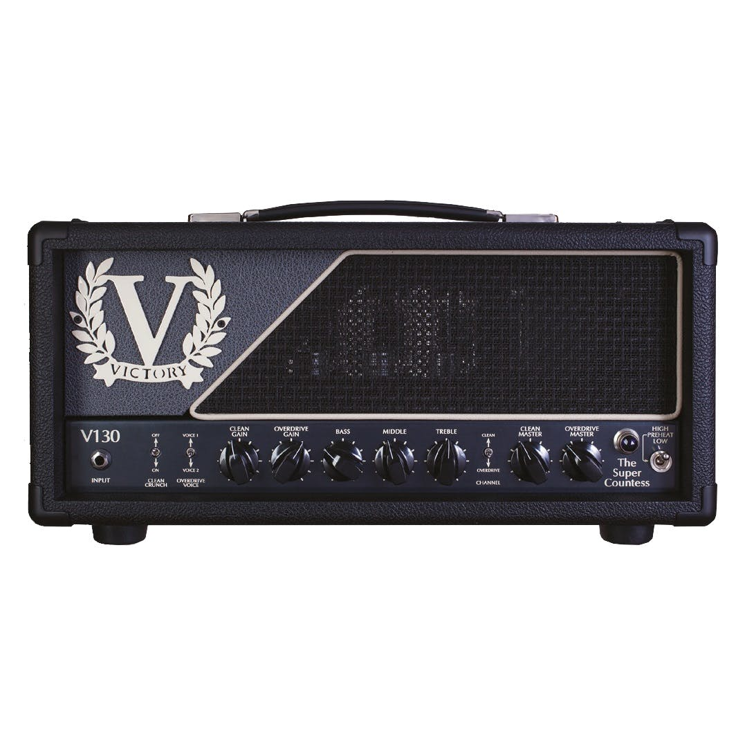 Victory Amplifiers Andertons Music Co Lockin Amplifier Am Radio Youtube V130 Super Countess 100w Head