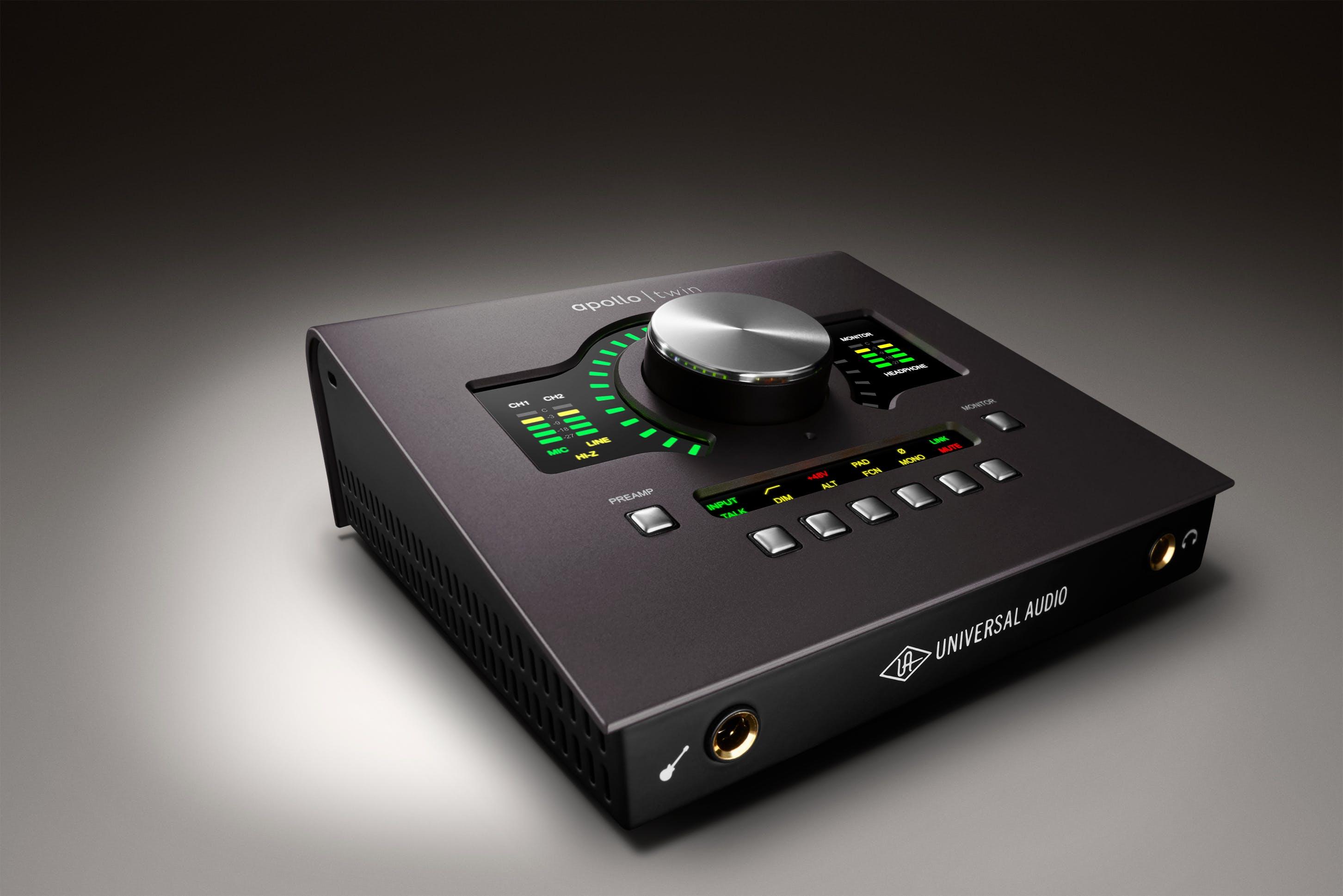 Universal Audio Apollo Twin MkII Solo Thunderbolt Interface - Andertons  Music Co