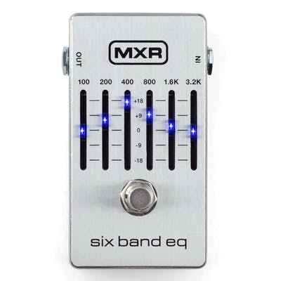 MXR 6B Equalizer Silver