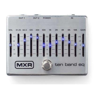 MXR 10 Band EQ Silver