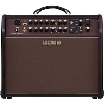 Boss Acoustic Singer Pro 120 Watt Bi-Amped Acoustic Stage Amp