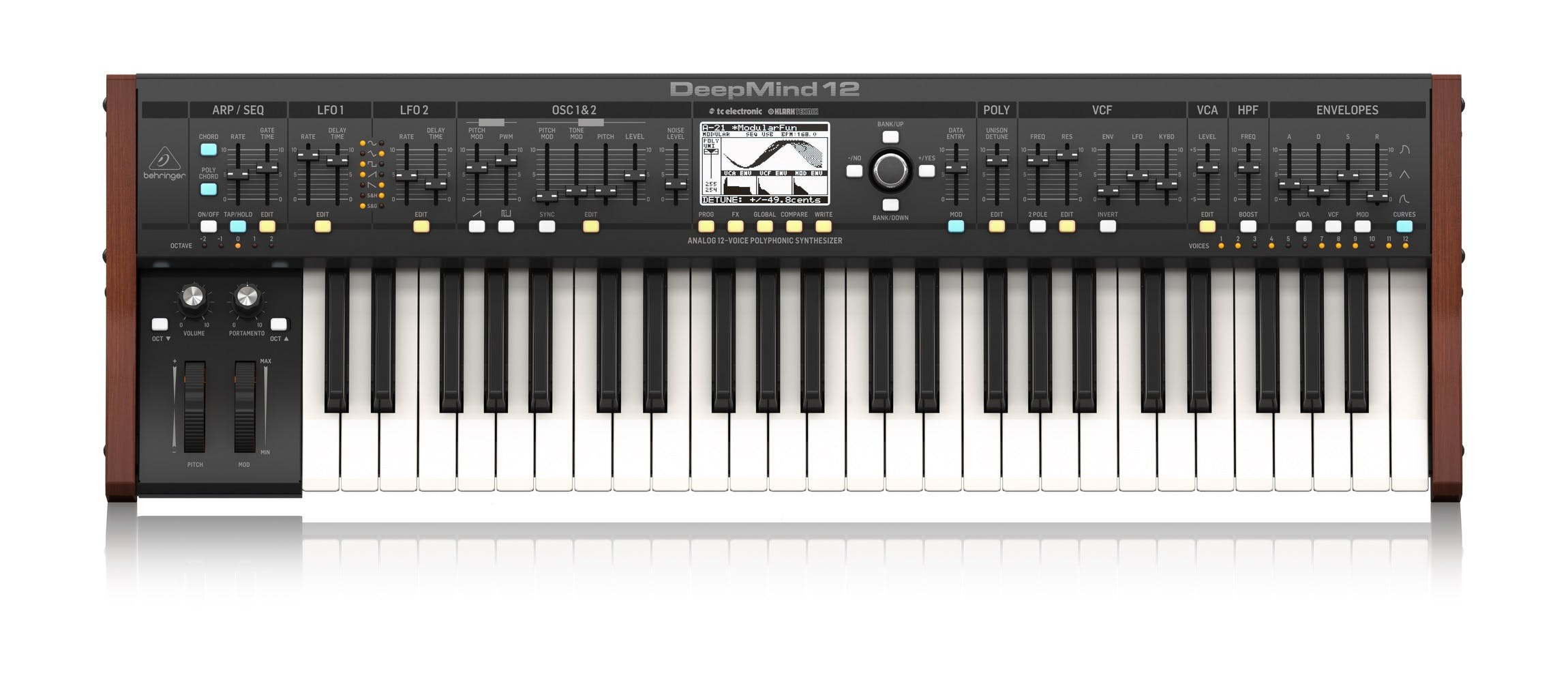 Behringer DeepMind 12 Synthesiser - Andertons Music Co