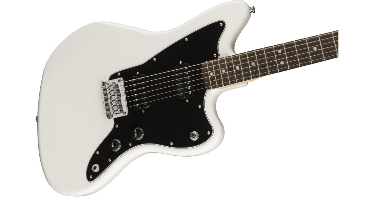 fender squier affinity jazzmaster hh olympic white andertons music co. Black Bedroom Furniture Sets. Home Design Ideas