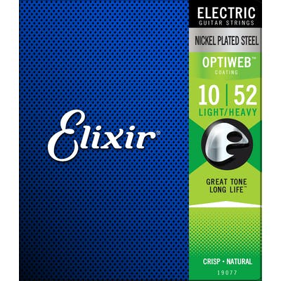 Elixir - Electric Optiweb Medium Light 10 - 52