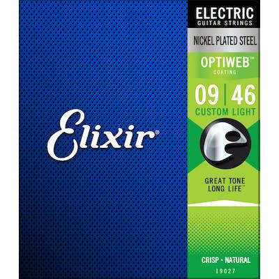 Elixir - Electric Optiweb Custom Light 9 - 46