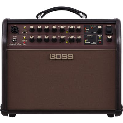 Boss Acoustic Singer Live 60 Watt Bi-Amped Acoustic Stage Amp