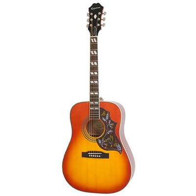 Epiphone Hummingbird Pro Electro Acoustic Guitar Cherry Sunburst
