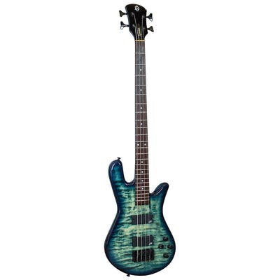 Spector Bass Legend 4 NT w/Aguilar PU's in Faded Blue Glo