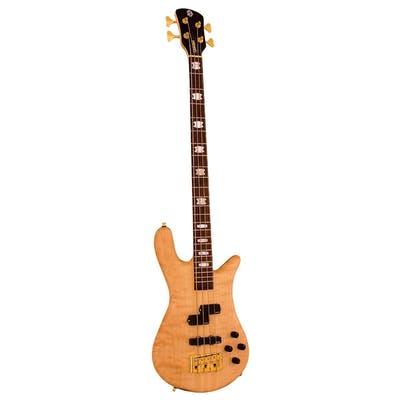 Spector Bass Euro 4LX in Natural Stain Matte With EMG Pickups