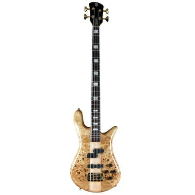 Spector Bass Euro 4LX in Poplar Burl Gloss With EMG Pickups