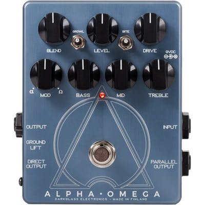 Darkglass Alpha Omega Dual Distortion Bass Pedal