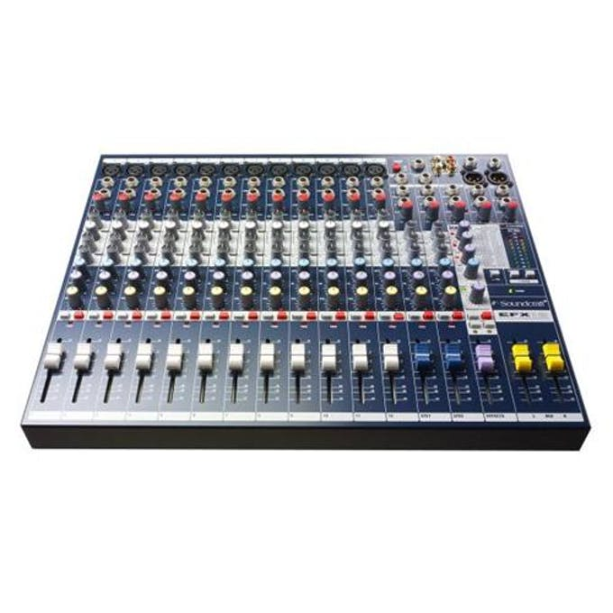 Soundcraft EFX12 Mixer - Andertons Music Co