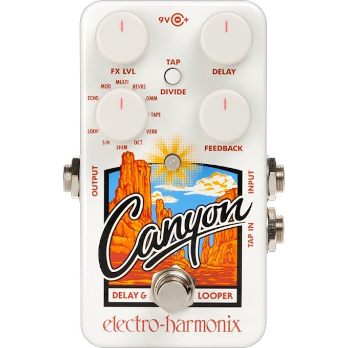 49d775ea0c Electro Harmonix Canyon Delay   Looper - Andertons Music Co.