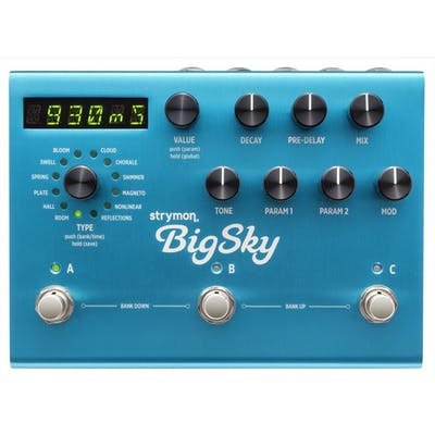 Strymon Big Sky Multi Reverb Pedal