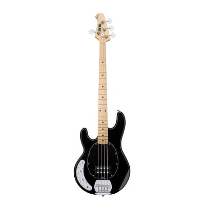 Sterling by Music Man Sub Ray4 Left Handed Black Bass Guitar