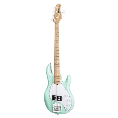 Sterling by Music Man Sub Ray5 Mint Green 5 string Bass Guitar