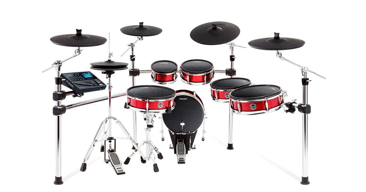 alesis strike pro 6 piece pro electronic drum kit andertons music co. Black Bedroom Furniture Sets. Home Design Ideas