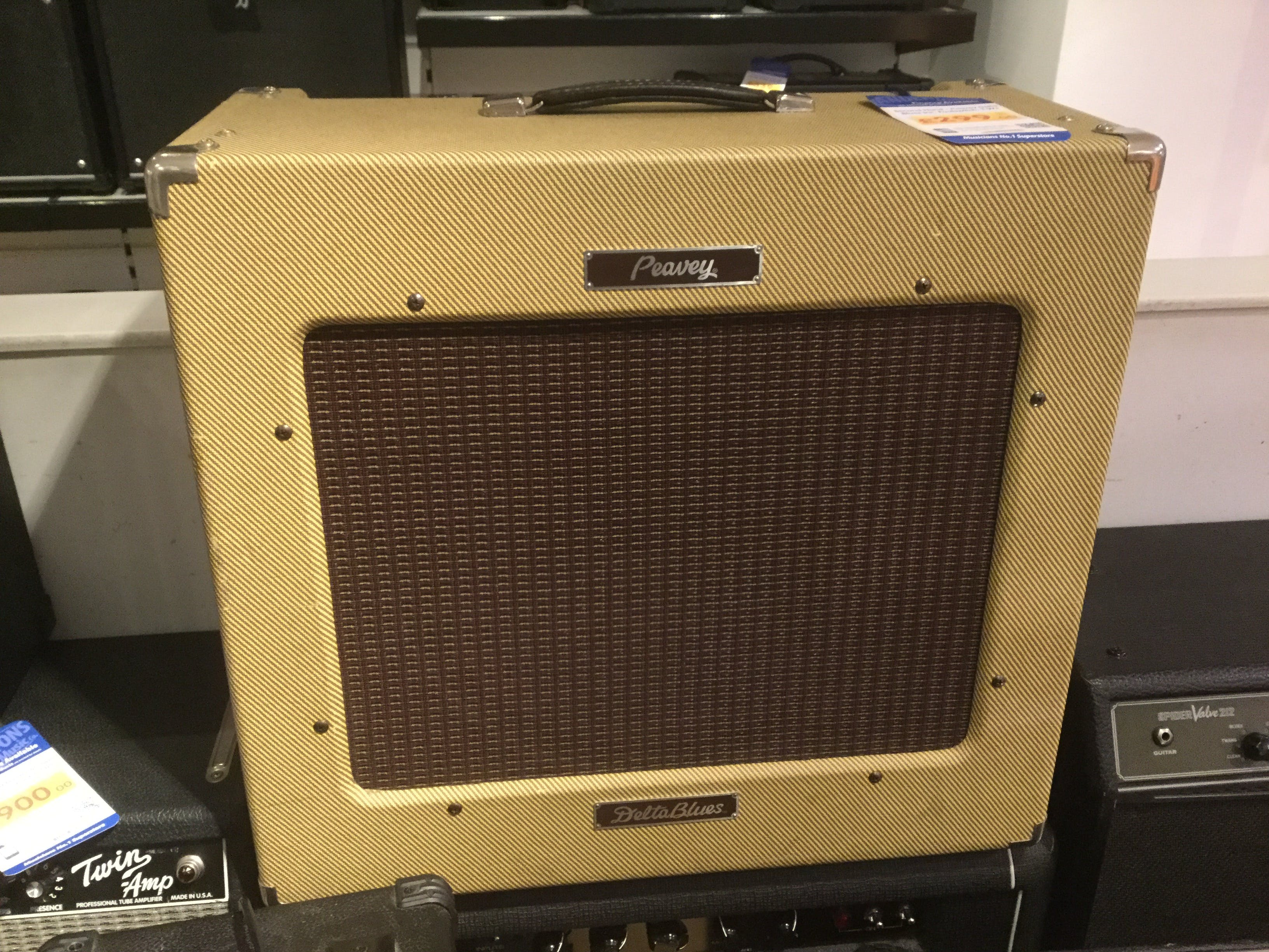Second Hand - Peavey Delta Blues Inc  Footswitch