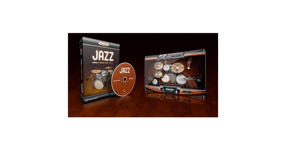 Jazz Expansion Pack for EZ Drummer - Andertons Music Co