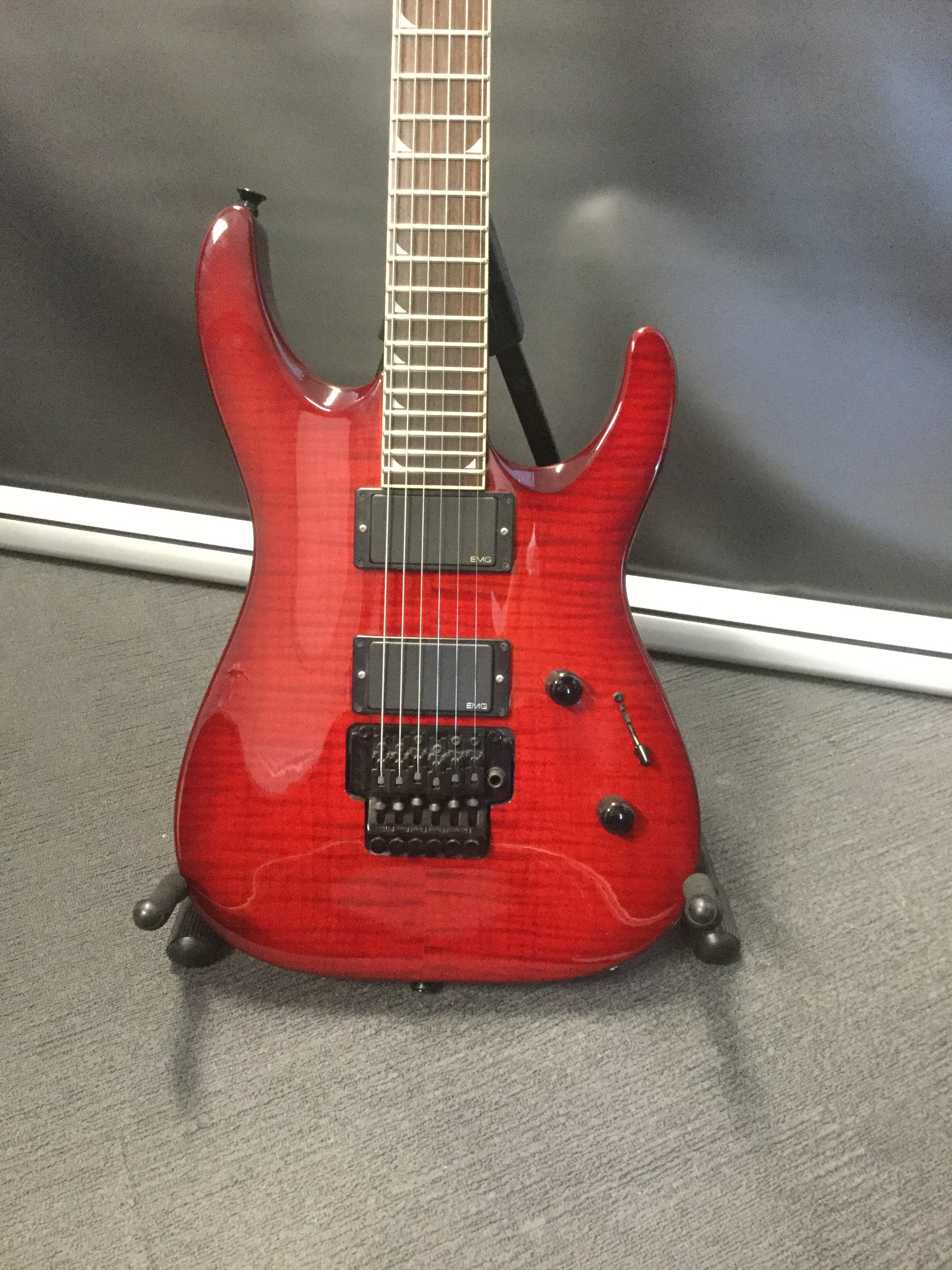 Jackson Dkmg Trans Red W Emgs No Trem Arm Case Andertons Music Co Js22 7 Wire Diagram