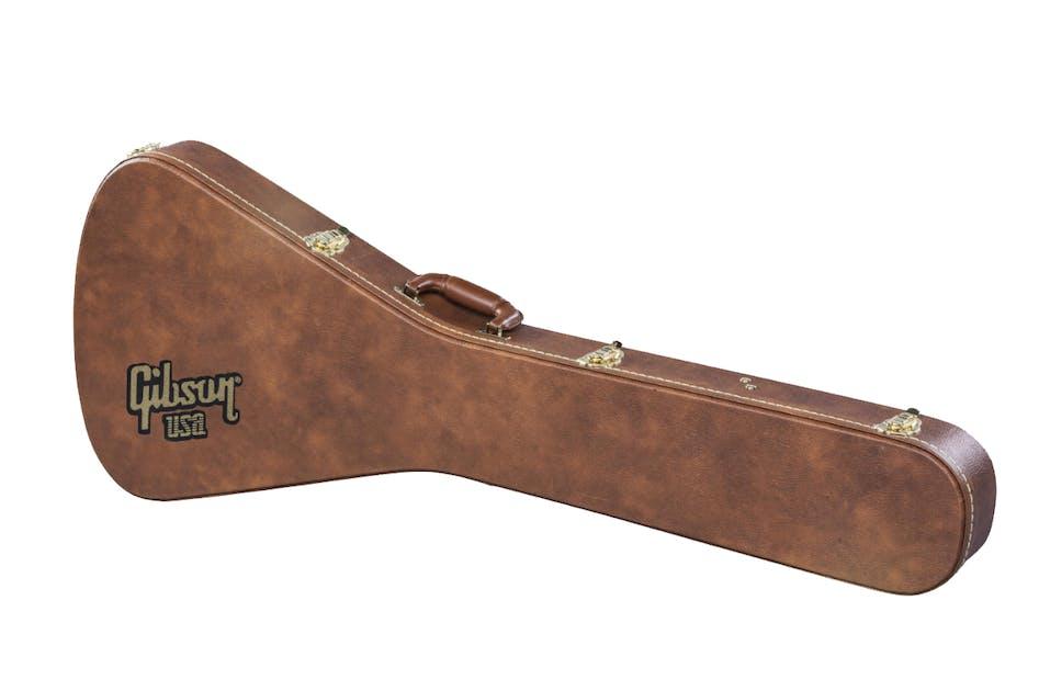 Gibson Hard Shell Case FLYING V Historic Brown