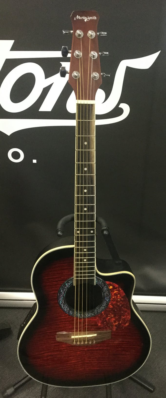 Second Hand Martin Smith R 202 Acoustic Guitar Inc Pickup