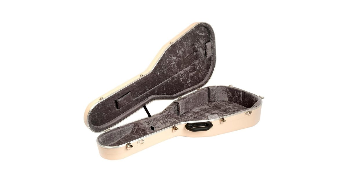 hiscox pro ii hard case to fit 000 0m shape guitars in ivory andertons music co. Black Bedroom Furniture Sets. Home Design Ideas
