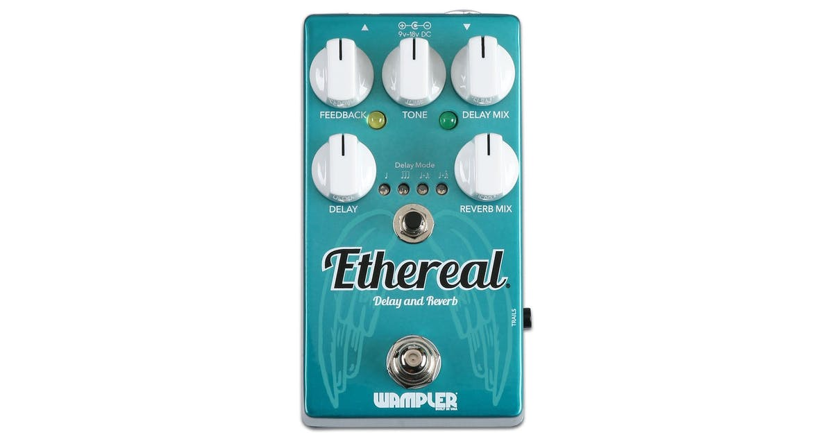 Wampler Ethereal Delay & Reverb Pedal - Andertons Music Co