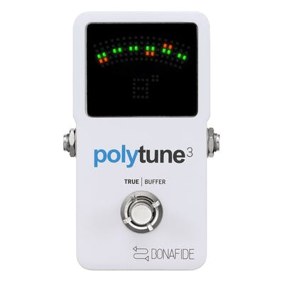 TC Electronic PolyTune 3 Tuner Pedal (w/ Bonafide Buffer)