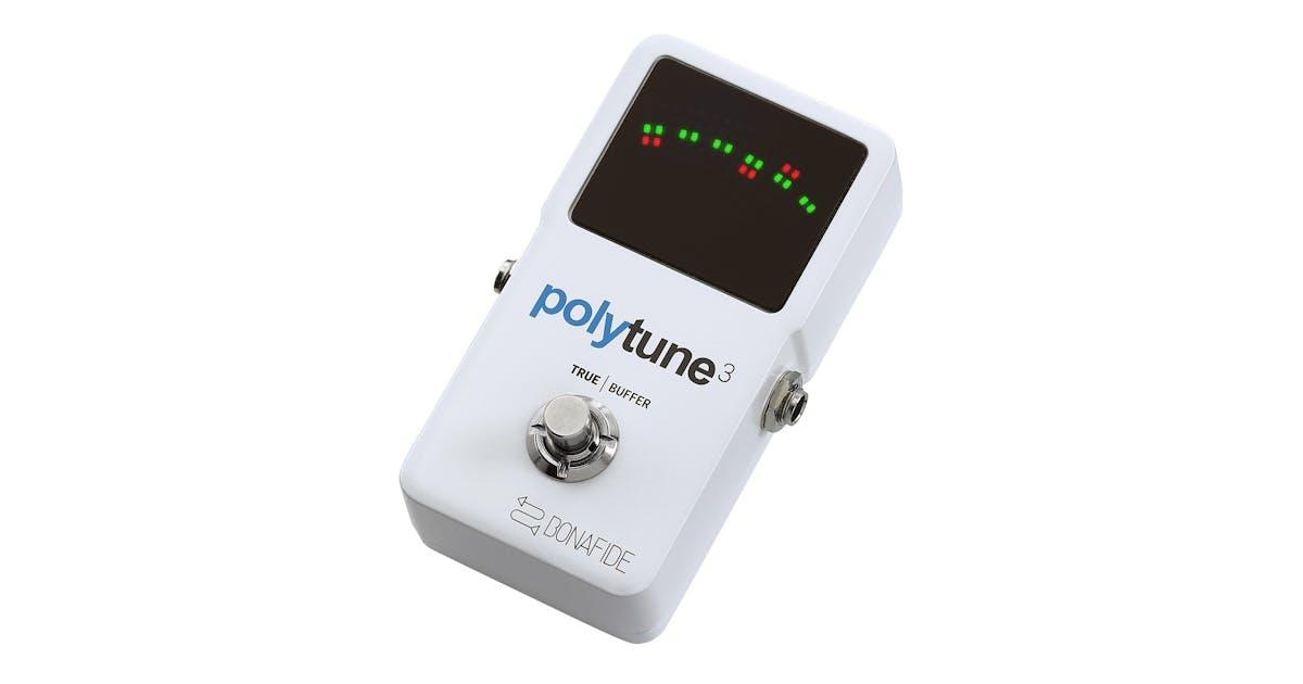 tc electronic polytune 3 tuner pedal w bonafide buffer andertons music co. Black Bedroom Furniture Sets. Home Design Ideas