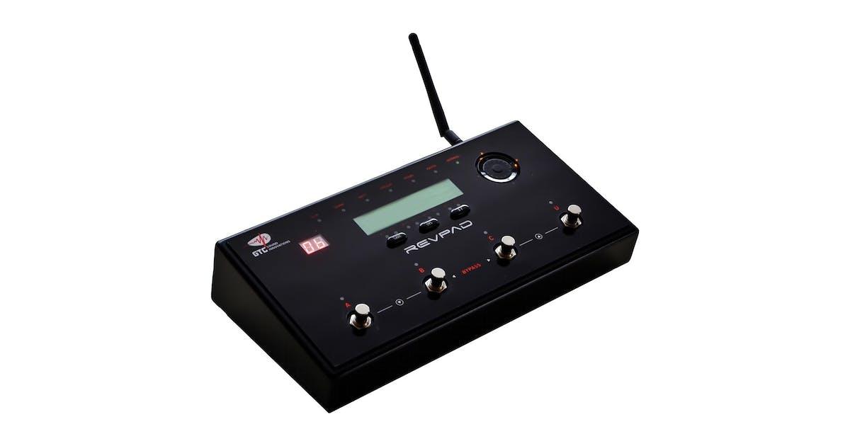 GTC Revpad Wireless Guitar Multi-Effects Unit- Andertons Music Co