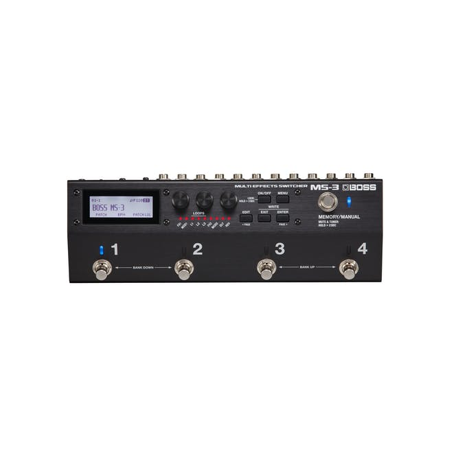 Boss Ms 3 Effects Switching System