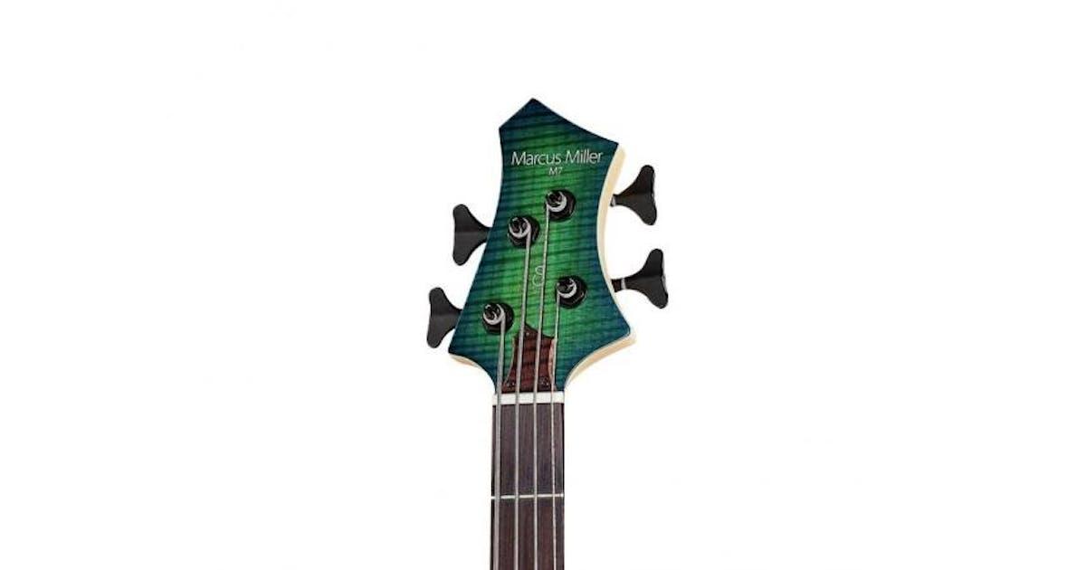 Sire Marcus Miller M7 Alder 4 String Transparent Blue ... on
