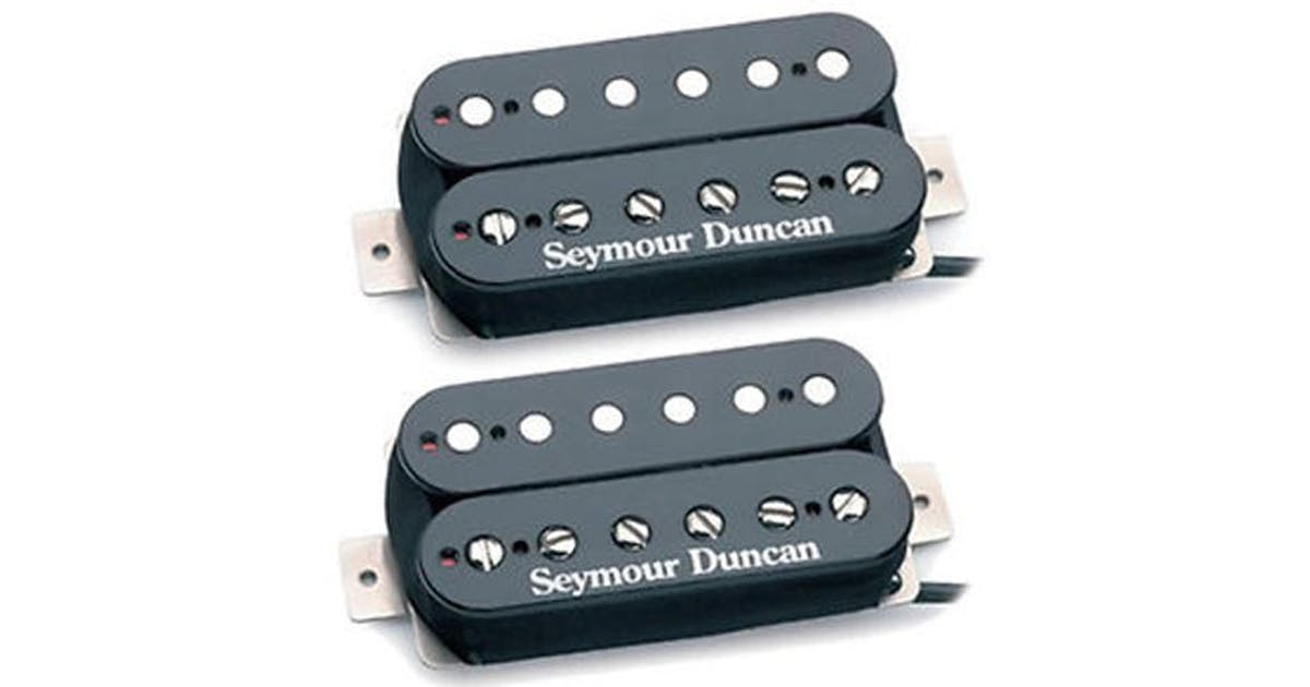 Seymour Duncan SH-4/SH-2N Humbucker Set in Black - Andertons Music on