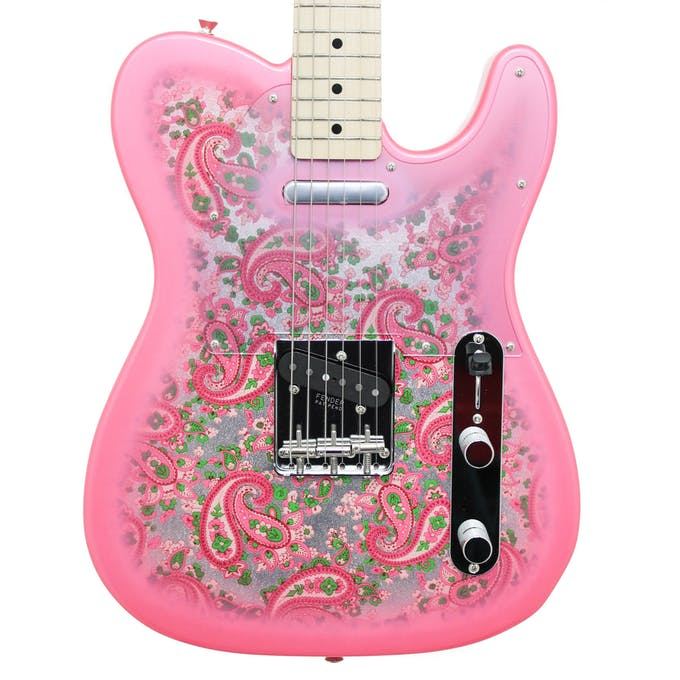 Fender Japan FSR Classic 69 Telecaster Pink Paisley - Andertons