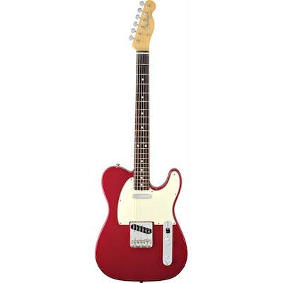 Fender Classic 60's Tele Pau Ferro Fretboard Candy Apple Red