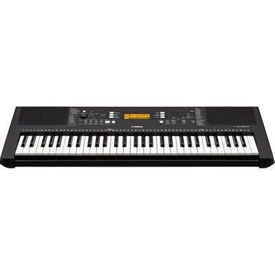 Yamaha PSRE363 Digital Keyboard in Black (w/ PSU - PA130A)