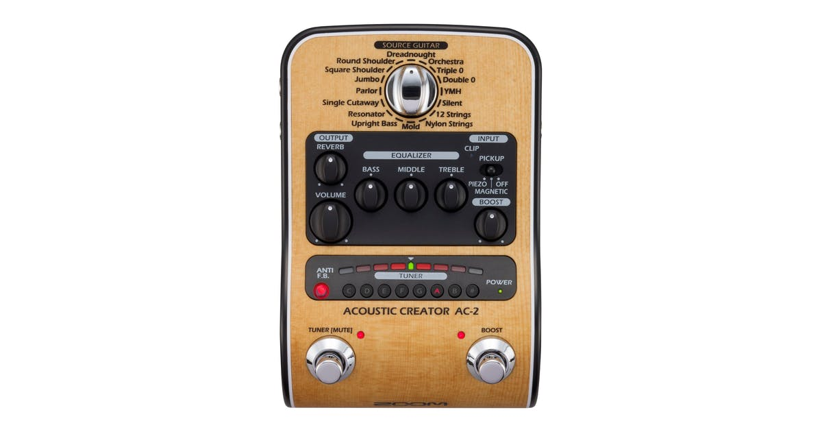 Acoustic Guitar Effects Pedals & D I  Boxes - Andertons