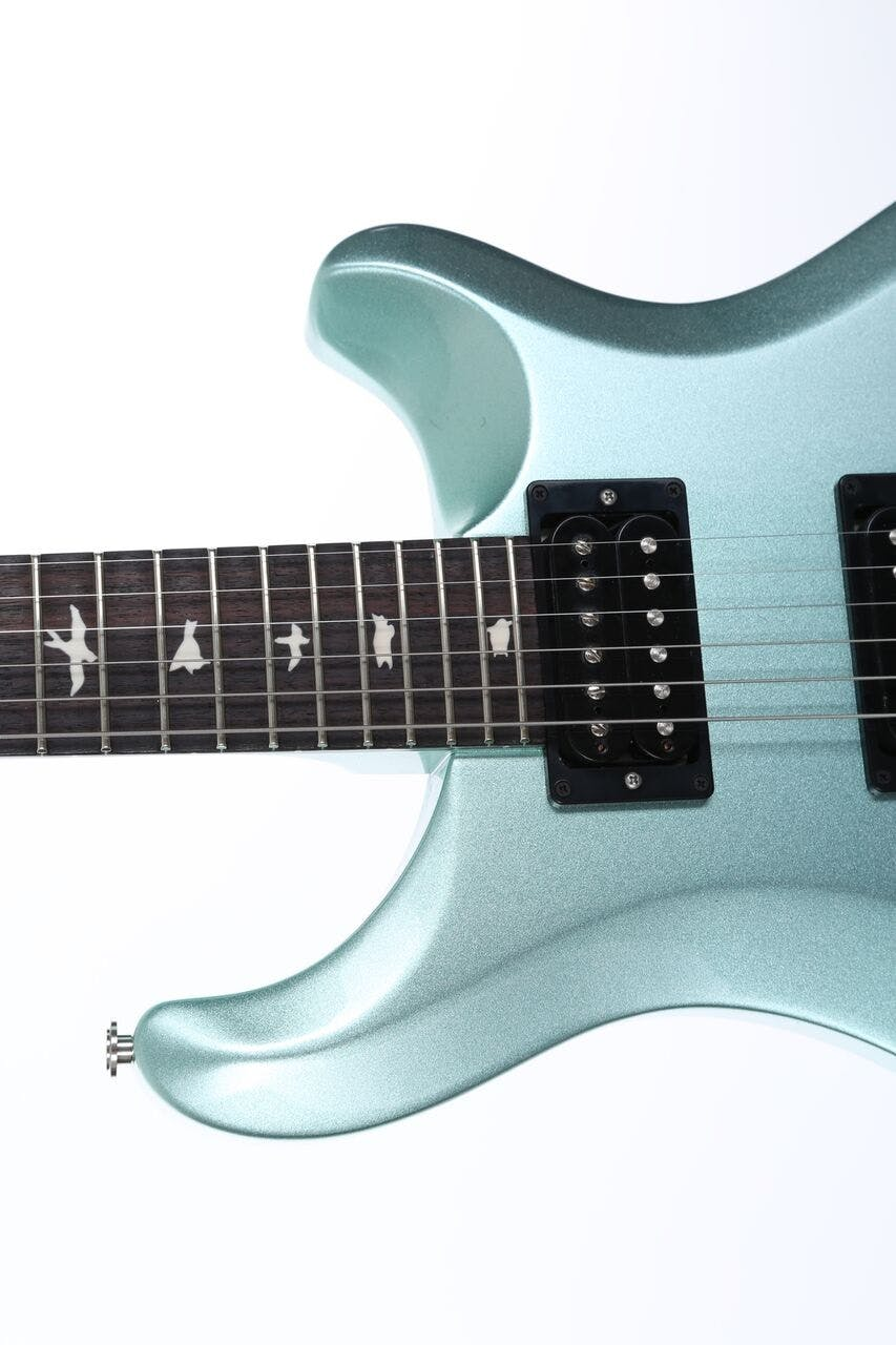B Stock : PRS S2 Custom 24 Frost Green Metallic Birds - Andertons ...