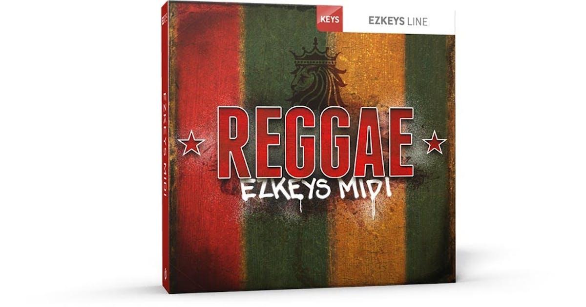 Toontrack EZkeys Reggae MIDI Pack (Download) - Andertons Music Co