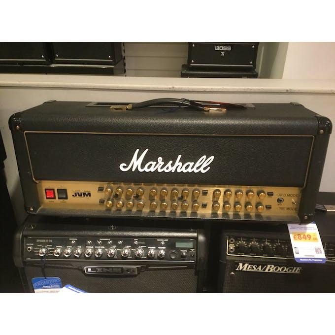 b835d9078c Second Hand Marshall Satriani JVM Head w/ Flightcase + 6 Button ...