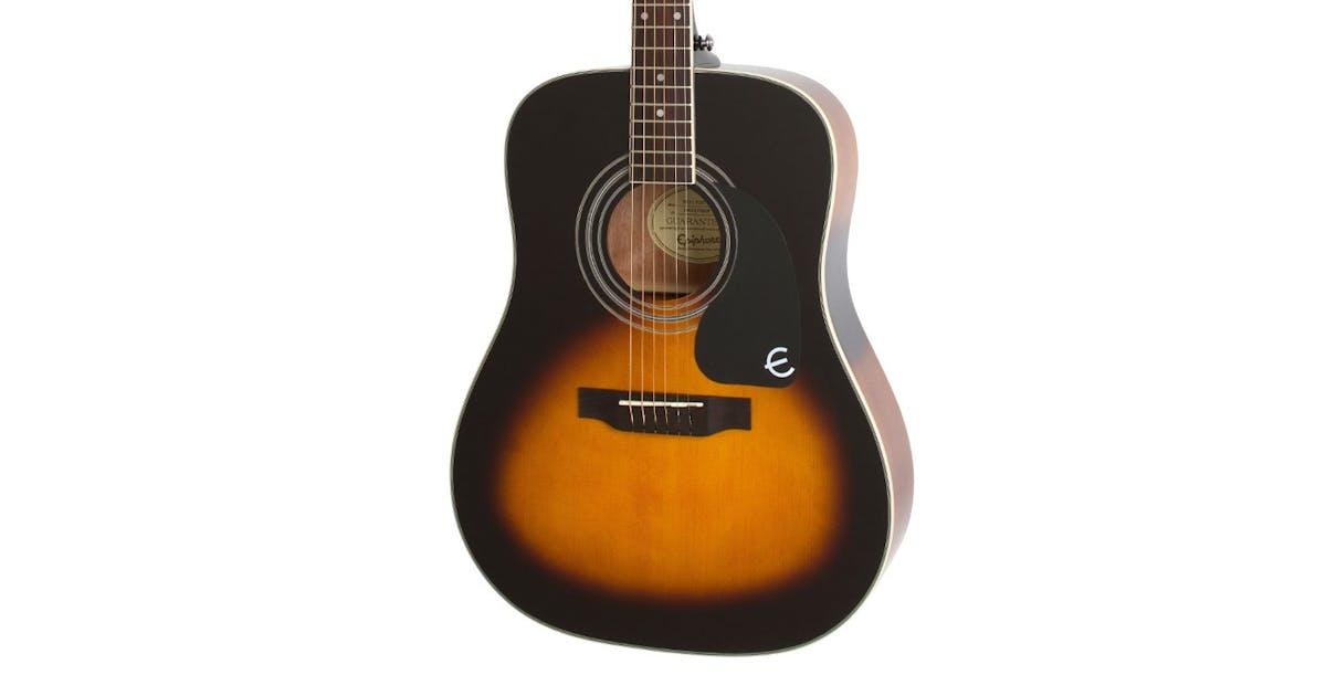 epiphone pro 1 plus acoustic guitar in vintage sunburst andertons music co. Black Bedroom Furniture Sets. Home Design Ideas
