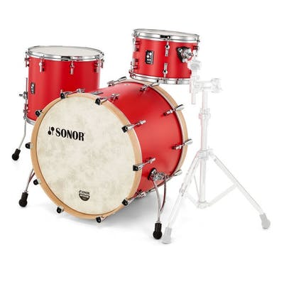 Sonor SQ1 Shell Pack in Hot Rod Red