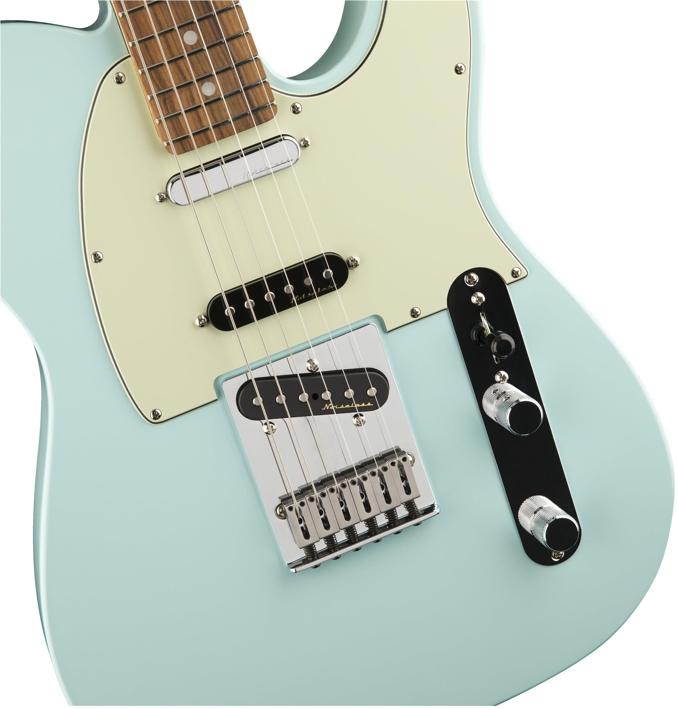 Fender Deluxe Nashville Telecaster Pau Ferro Fretboard Daphne ...