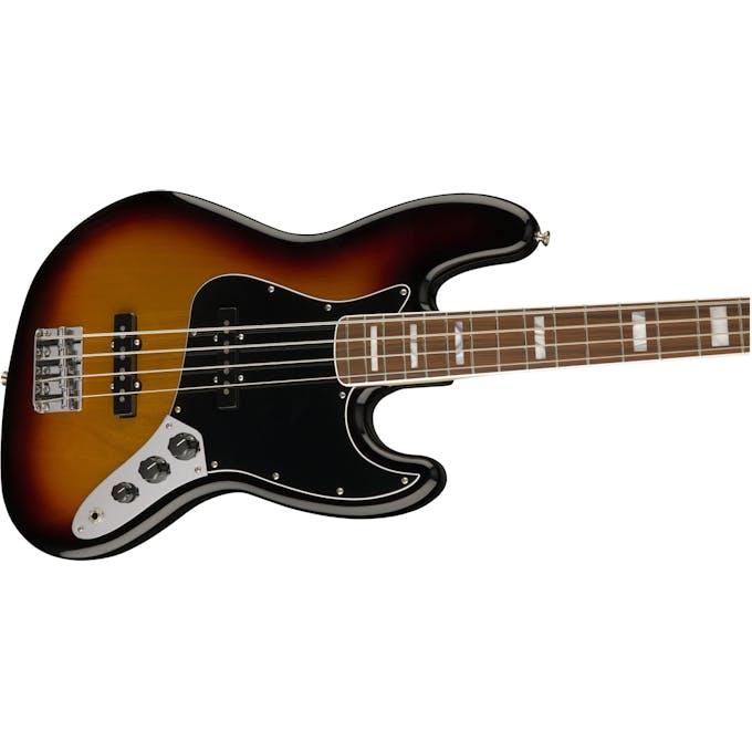 Fender 70's Jazz Bass Pau Ferro Fretboard 3-Tone Sunburst