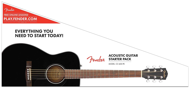 Fender CC 60s Concert Pack In Black