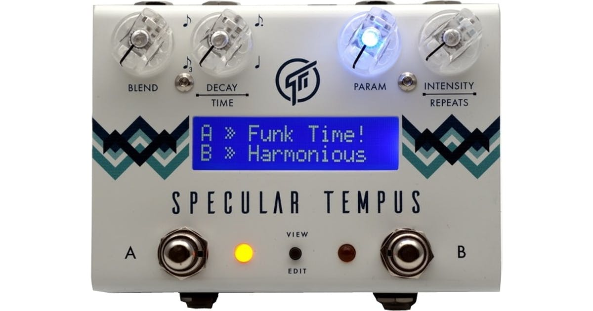 GFI System Specular Tempus Reverb & Delay Pedal - Andertons Music Co