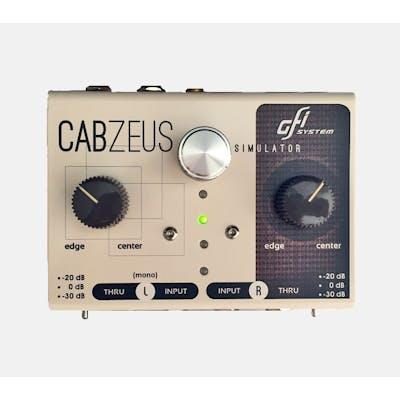 GFI System Cabzeus Stereo Speaker Simulator & DI Box